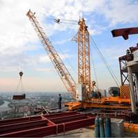 арендовать башенный кран в Днепре