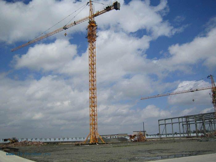 Купить или арендовать башенный кран