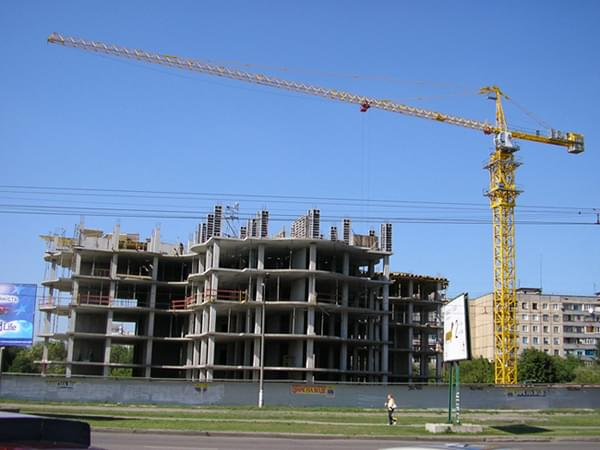 арендовать башенный кран в Ивано-Франковске